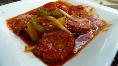 Chorizo Y Pimentos