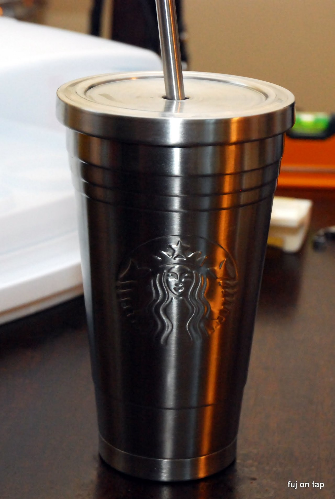 Starbucks Stainless Steel Cold Cup Matthew Fuj Scher
