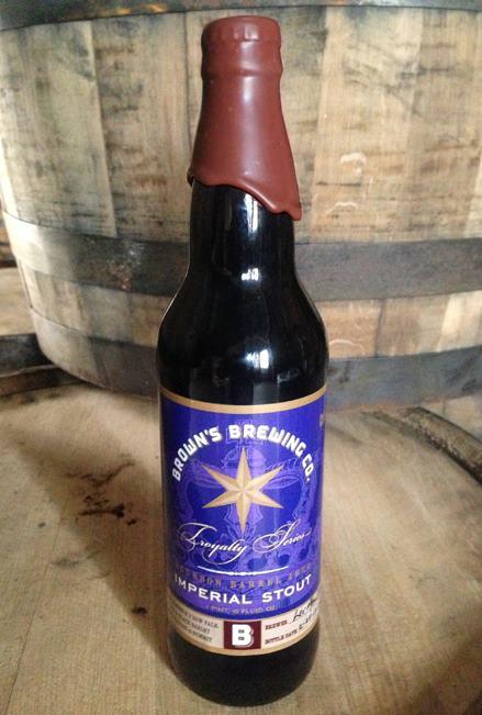 Brown's Bourbon Barrel Aged Imperial Stout