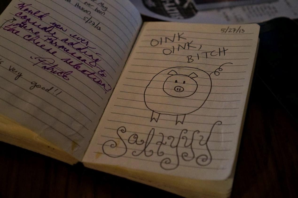 Oink oink, bitch