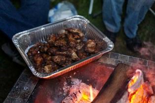 Smoked Cajun Chicken Wings
