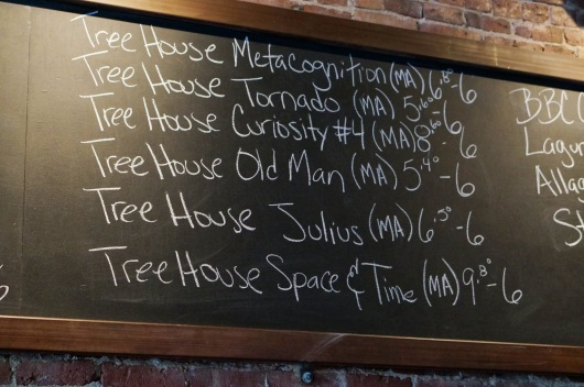 Tree House Tap List