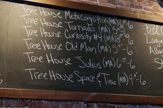Tree House Tap List