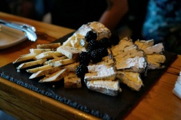 Selection of cheese aged at the Cellars at Jasper Hill