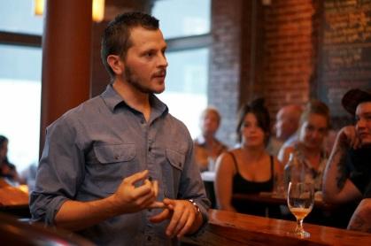Head Brewer Nathan Lanier