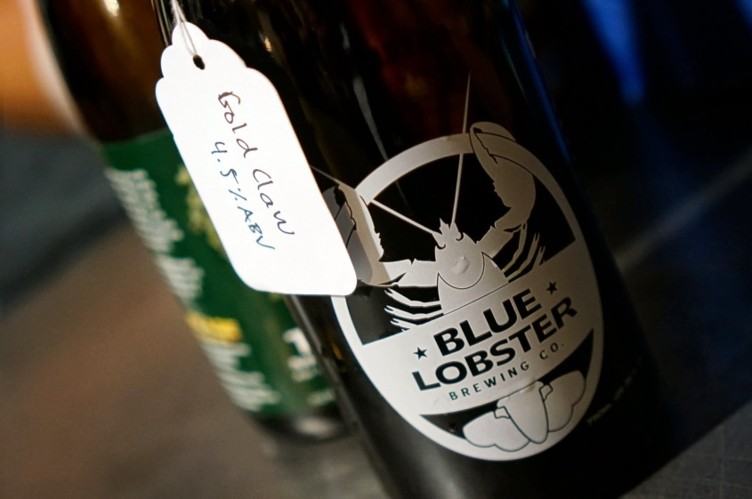 Blue Lobster Gold Claw