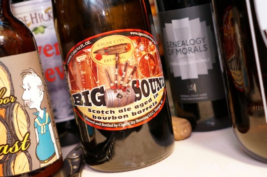 Cigar City Bourbon Barrel Aged Big Sound