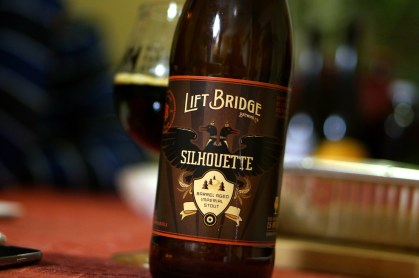 Lift Bridge Silhouette