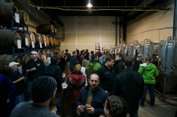 Night Shift Brewing Barrel Society Party