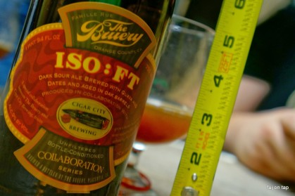 The Bruery / Cigar City ISO:FT