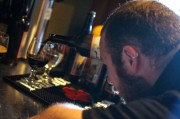 Kyle Pouring CBS at Armsby Abbey