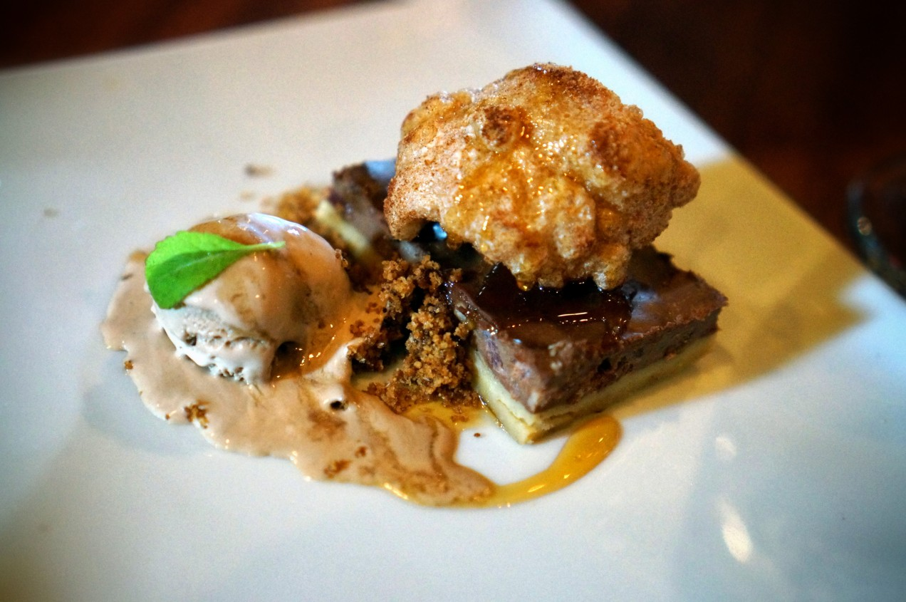 Chocolate Brown Tart and Mexican Ice Cream at Armsby Abbey Founders Breakfast