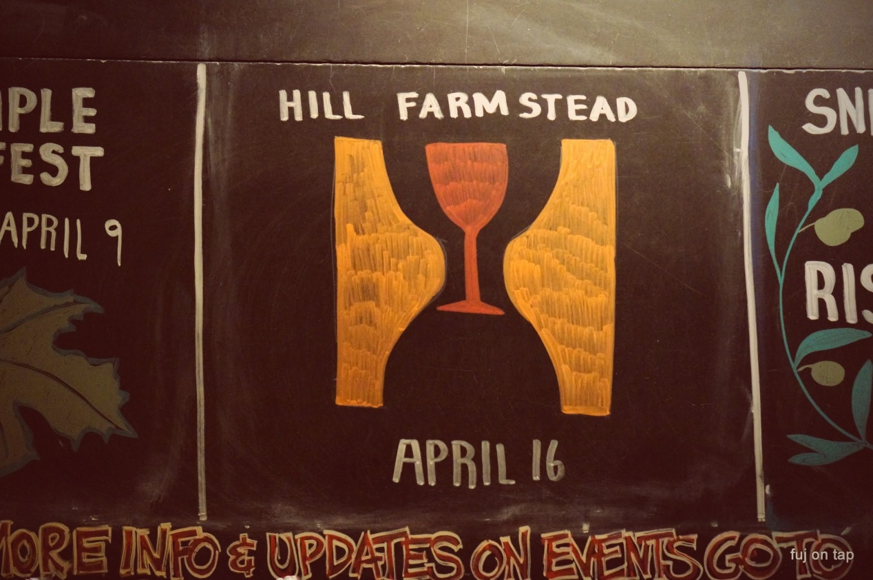 Hill Farmstead at Farmhouse Tap and Grill