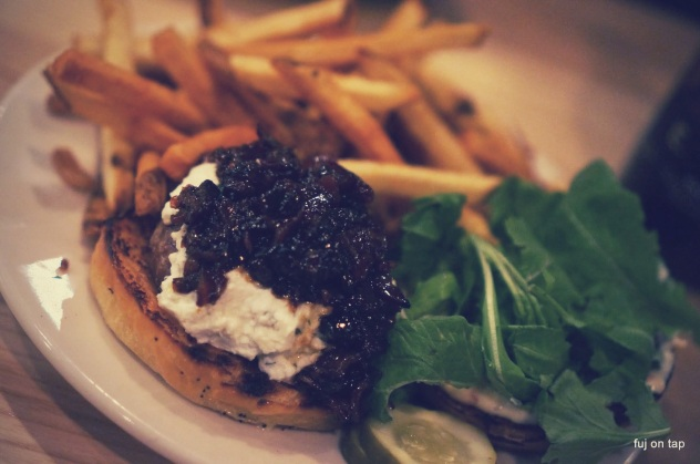 Farmhouse Tap & Grill Lamb Burger