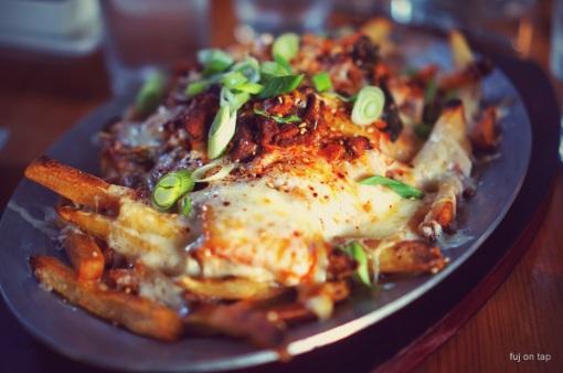 Mingle Kimchi Fries