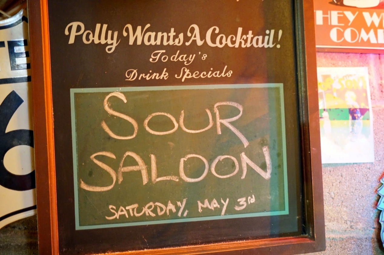 Sour Saloon at the Doom Saloon