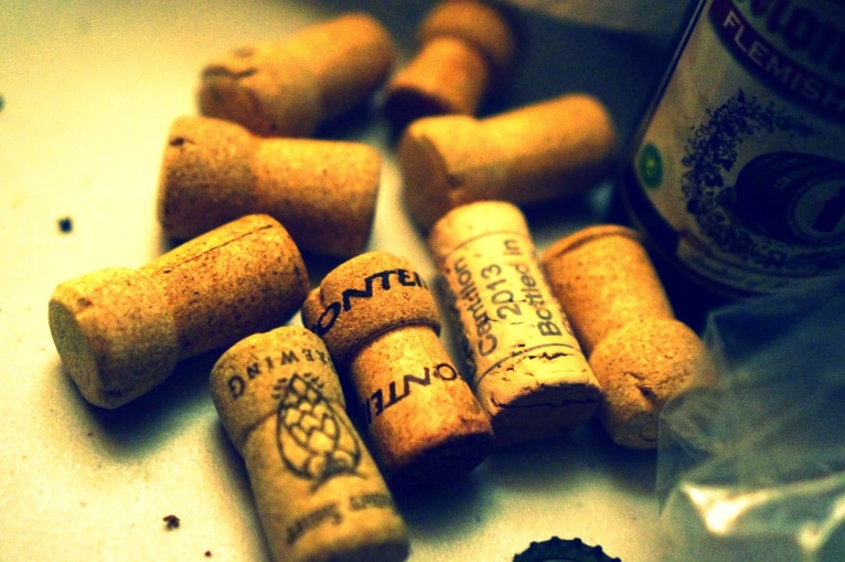 Corks at the Sour Saloon