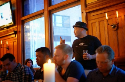 Executive Chef Dimitrios Menagias of The City Beer Hall