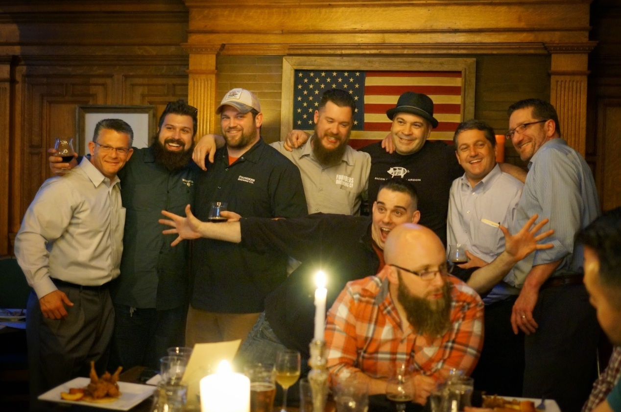 Founders Wild Game Dinner at The City Beer Hall