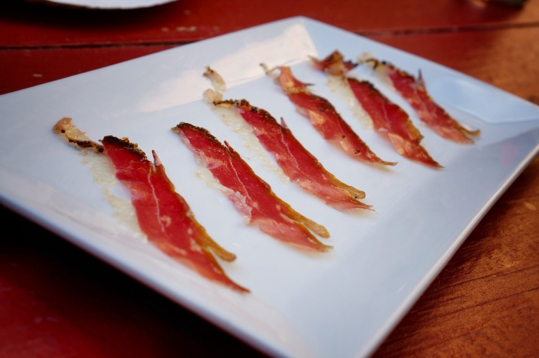 City Beer Hall House Cured Duck Prosciutto