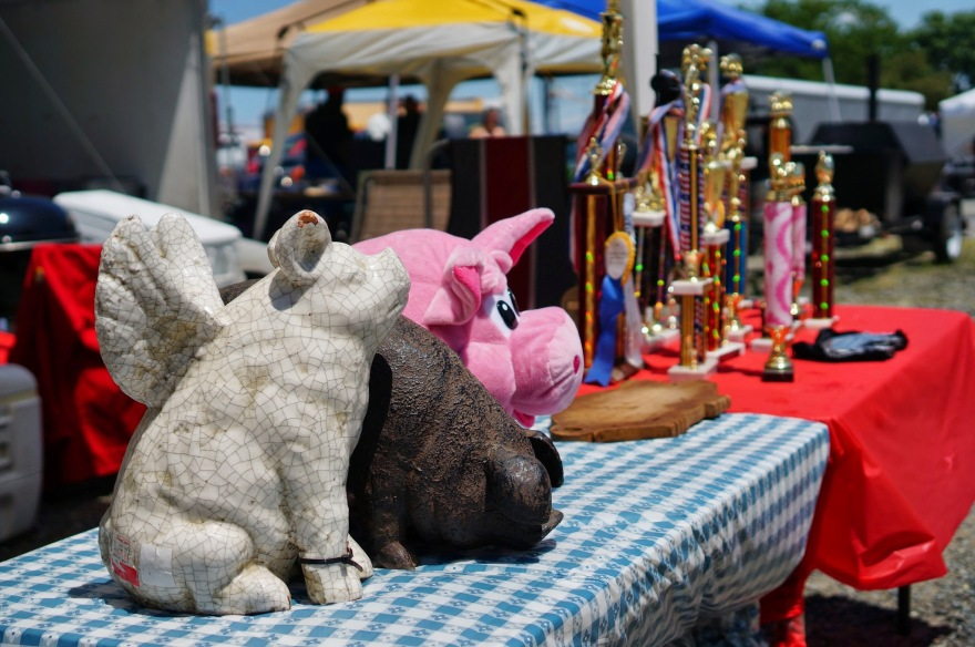 Troy Pig Out Competition