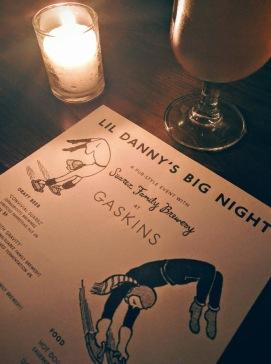 lil' danny's BIG NIGHT | Suarez Family Brewery