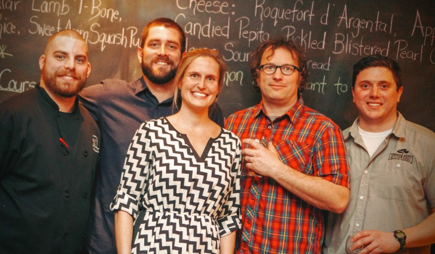Common Roots x Rare Form Beer Dinner at Henry Street Taproom